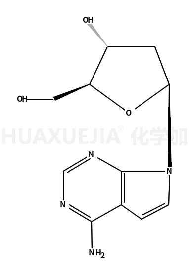 (2R,3S,5R)-5-(4-氨基-7H-吡咯[2,3-D]嘧啶-7-基-2 -(羟甲基)四氢呋喃-3-醇