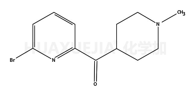 (6-bromopyridin-2-yl)-(1-methylpiperidin-4-yl)methanone