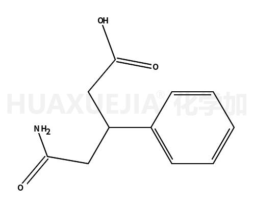 4-(aminocarbonyl)-3-phenylbutanoic acid