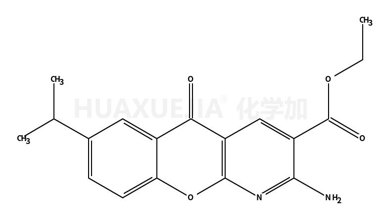 2-氨基-7-异丙基-5-氧代-5H-[1]苯并吡喃[2,3-b]吡啶-3-羧酸乙酯