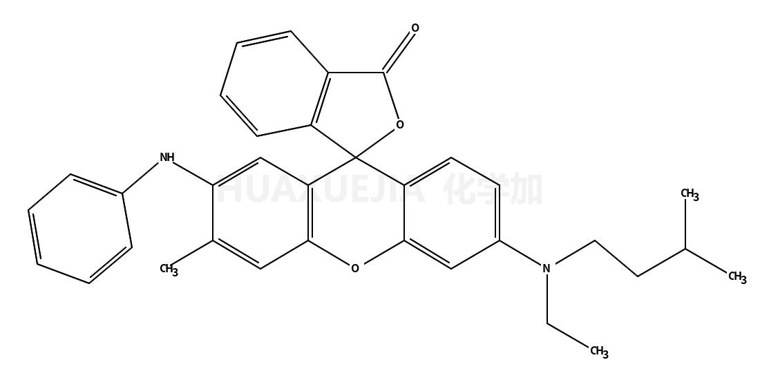 3-N-异戊基-N-乙氨基-6-甲基-7-苯氨基荧烷
