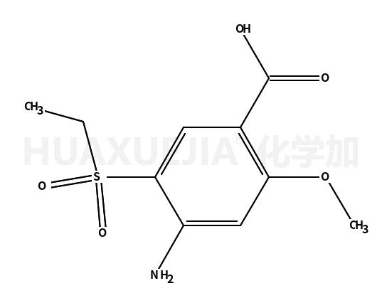 4-氨基-5-(乙基磺酰基)-2-甲氧基苯甲酸