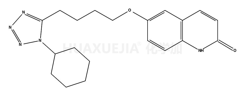6-[4-(1-环己基-1H-四唑-5-基)丁氧基]-2(1h)-喹啉酮