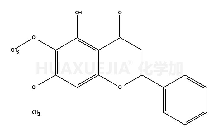 5-羟基-6,7-二甲氧基黄酮