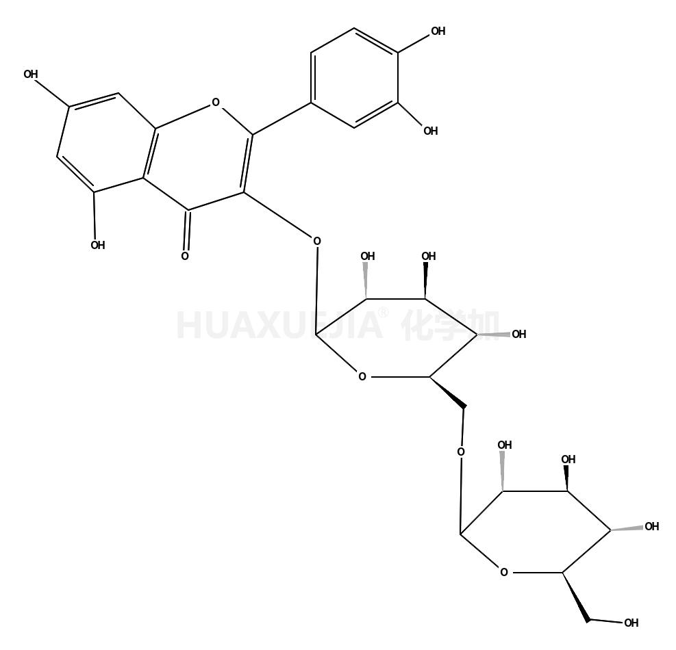 槲皮素-3-龙胆二糖甙