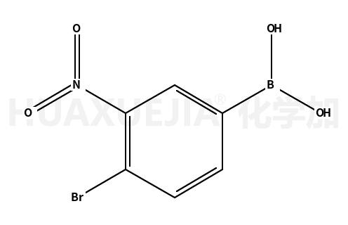 4-溴-3-硝基苯硼酸