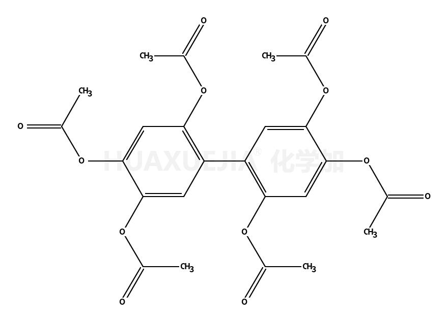 [4,5-diacetyloxy-2-(2,4,5-triacetyloxyphenyl)phenyl] acetate