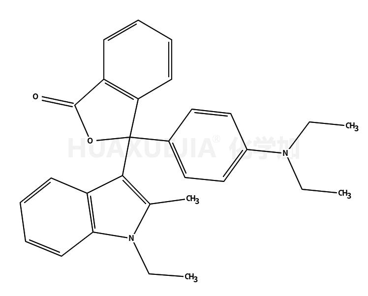 3-[4-(二乙基氨基)苯基]-3-(1-乙基-2-甲基-1H-吲哚-3-基)-1(3H)-异苯并呋喃酮