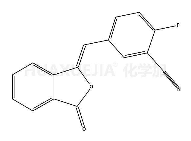 2-氟-5-[(3-氧代-1(3H)-异苯并呋喃亚基)甲基]苯腈