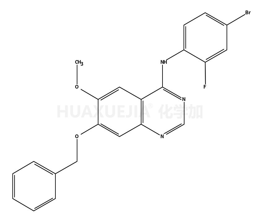7-(苄氧基)-4-(4-溴-2-氟苯胺基)-6-甲氧基喹唑啉