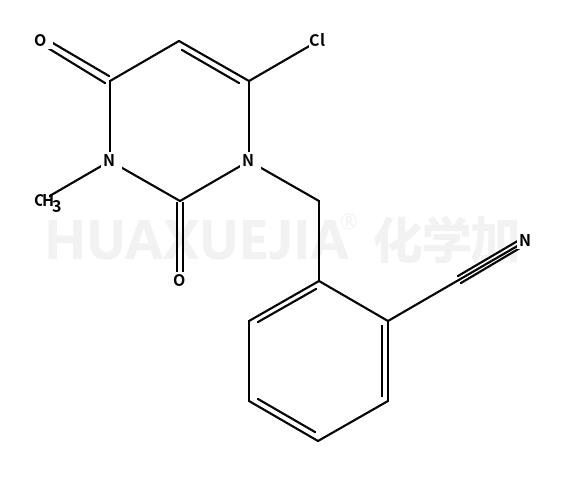 2-[(6-氯-3,4-二氢-3-甲基-2,4-二氧代-1(2H)-嘧啶)甲基]丁苯甲腈
