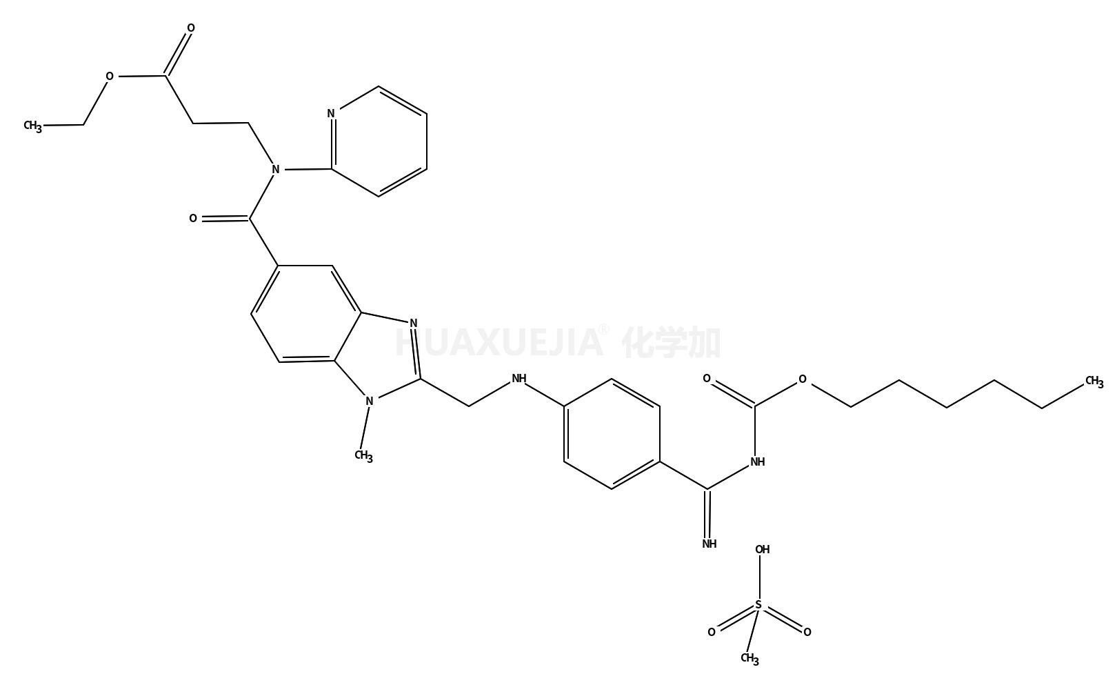 甲磺酸达比加群酯
