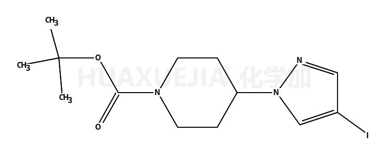 4-(4-碘-1H-吡唑-1-基)-1-哌啶羧酸叔丁酯