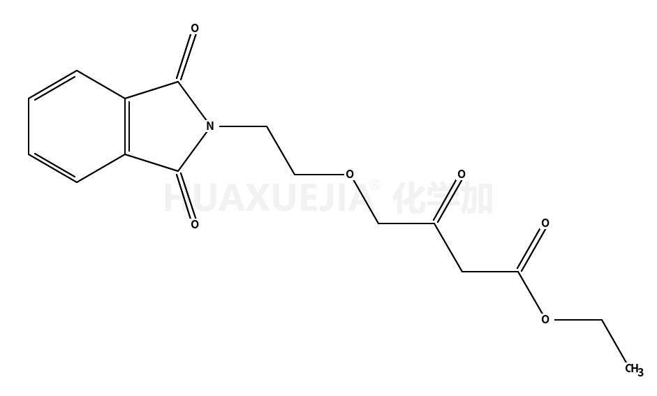 乙基-4-(2-邻苯二甲酰亚胺基乙氧基)乙酰乙酸乙酯