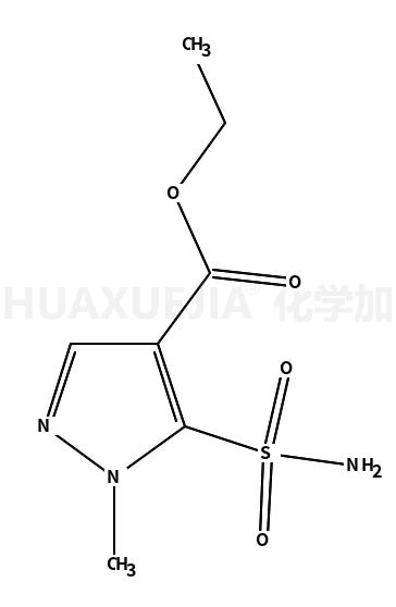 1-甲基-4-甲酸乙酯-5-吡唑磺酰胺