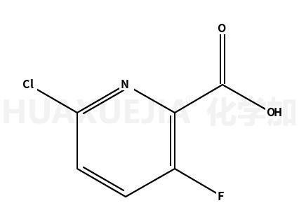 2-氯-5-氟吡啶-6-羧酸