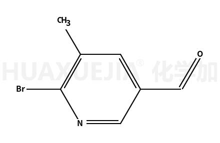 2-溴-3-甲基-5-甲酰基吡啶