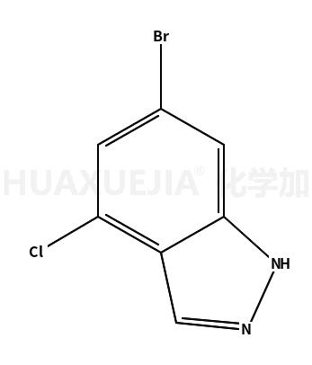 6-溴-4-氯吲唑
