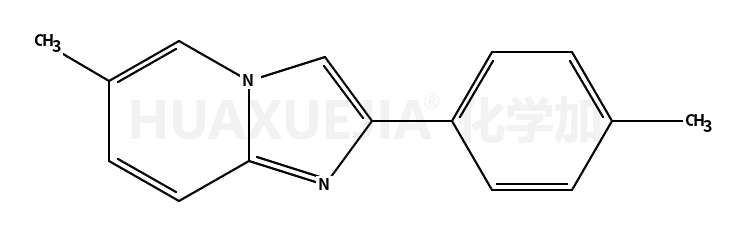 6-甲基-2-(4-甲基苯基)咪唑[1,2-a]吡啶