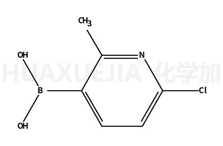 6-氯-2-甲基吡啶-3-硼酸