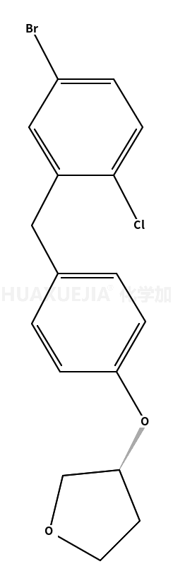 (3S)-3-[4-[(5-溴-2-氯苯基)甲基]苯氧基]四氢呋喃