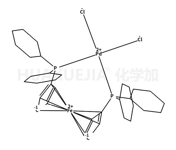二氯[1,1'-双(二环己基磷)二茂铁]钯(II), Pd