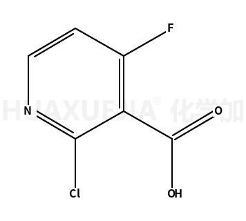 2-氯-4-氟烟酸