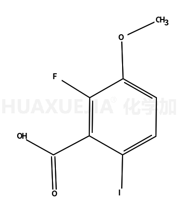 2-fluoro-6-iodo-3-methoxyBenzoic acid